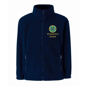 St Kenelm's School Zip fleece